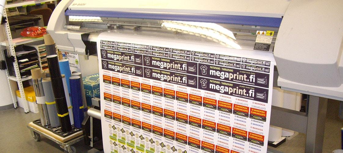 Mainostarrat - Megaprint
