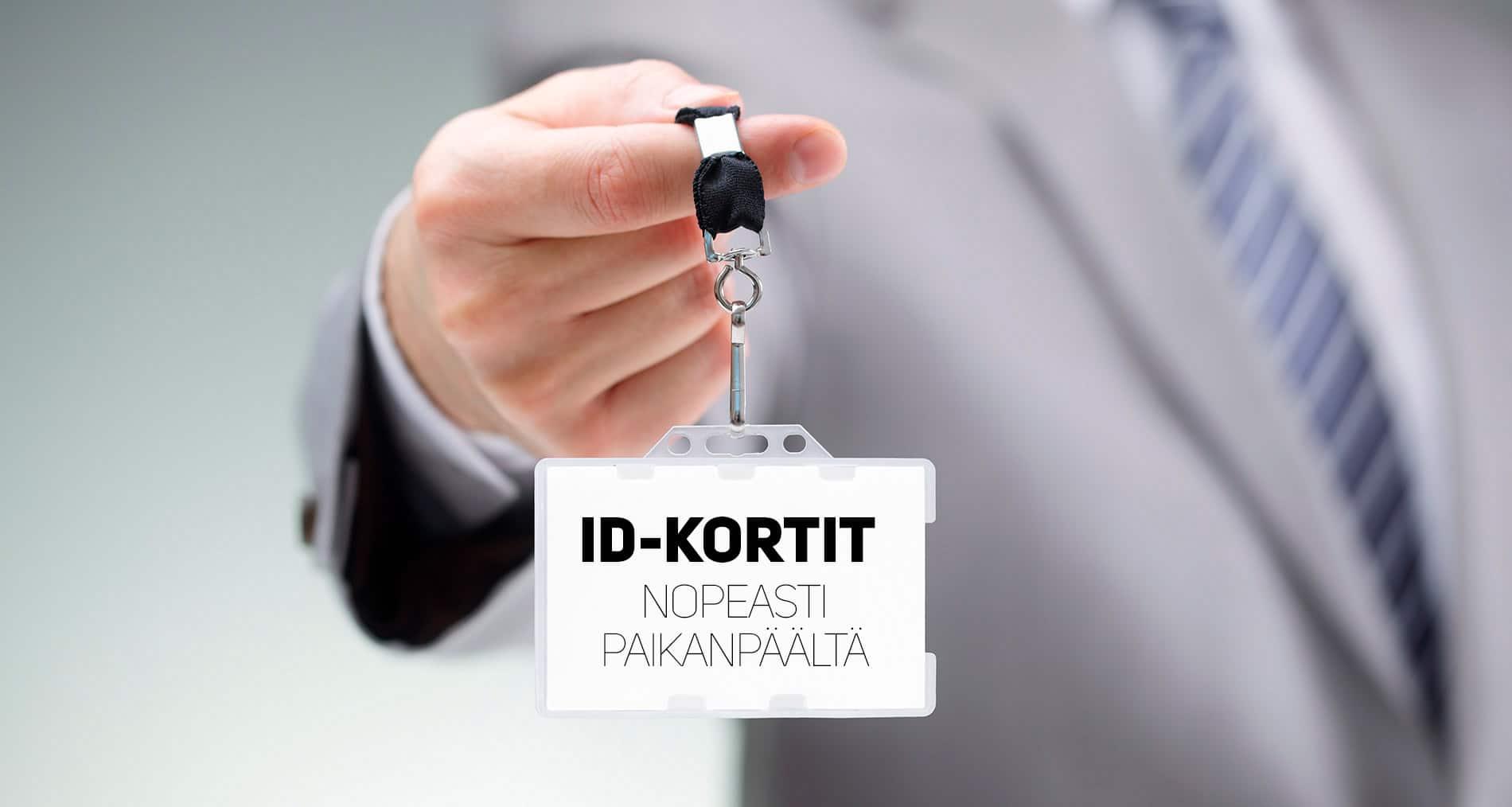 ID kortti tai kuvallinen henkilökortti nopeasti, jopa 1-3 tunnissa