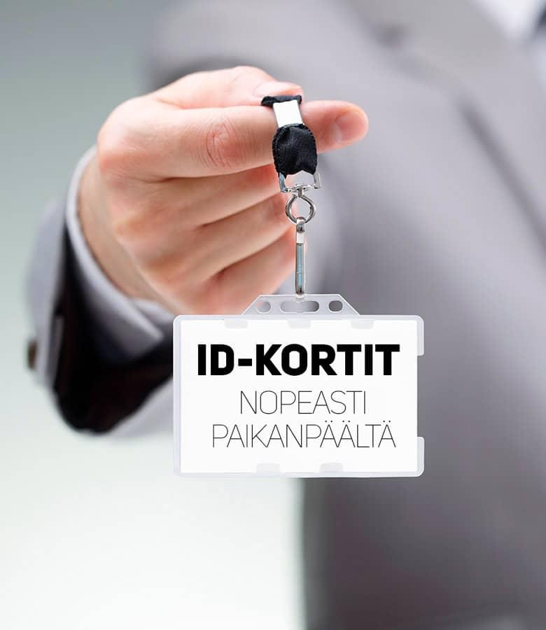 ID kortti tai kuvallinen henkilökortti nopeasti 1-3 tunnissa